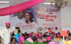 SSA Sumonu Bello-Osagie and family Celebrate Daughter's Christening and Dedication