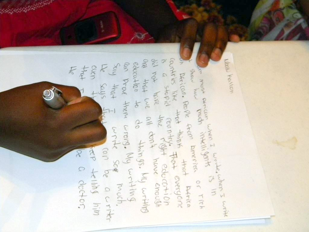 Child's Kwanza Letter