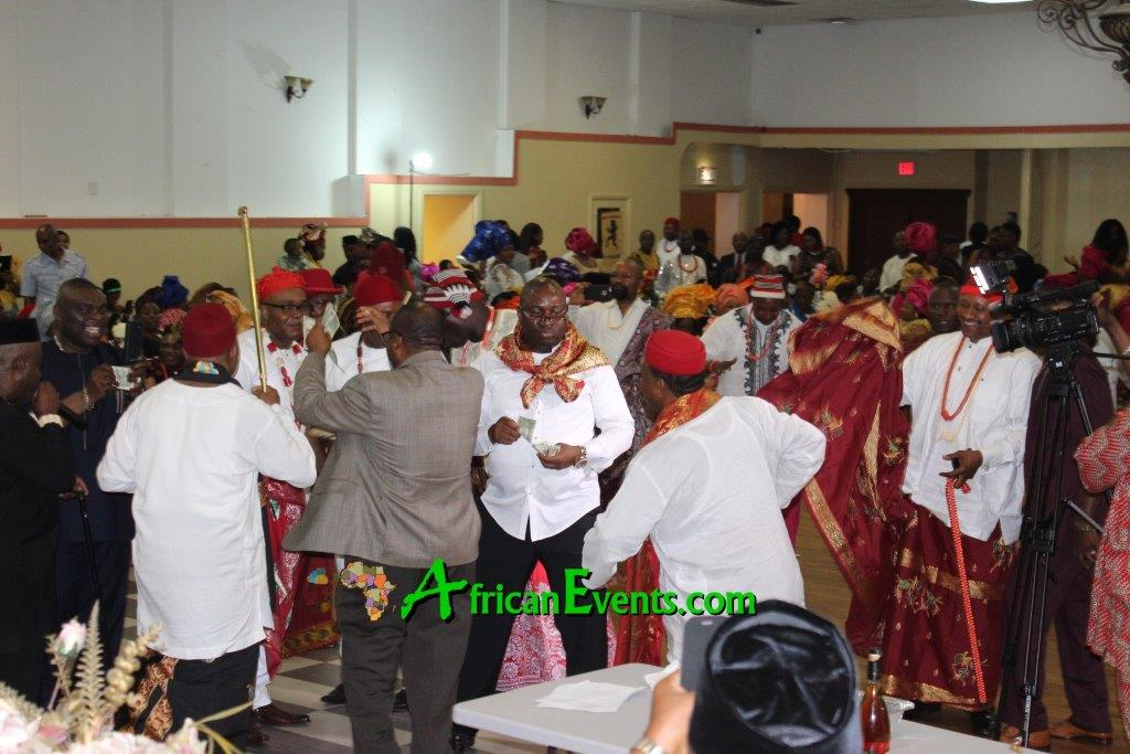 Ibo men at an African event - known for their ambition, prowess, and tradition