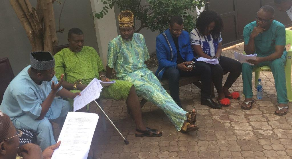 Kanayo. O Kanayo, Pacal Atumah, and other actors in a reading