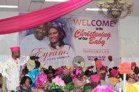 Sumonu Bello Osagie Child Dedication event
