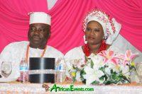 Sumonu and Dorcas Eki Bello Osagie Child Dedication event