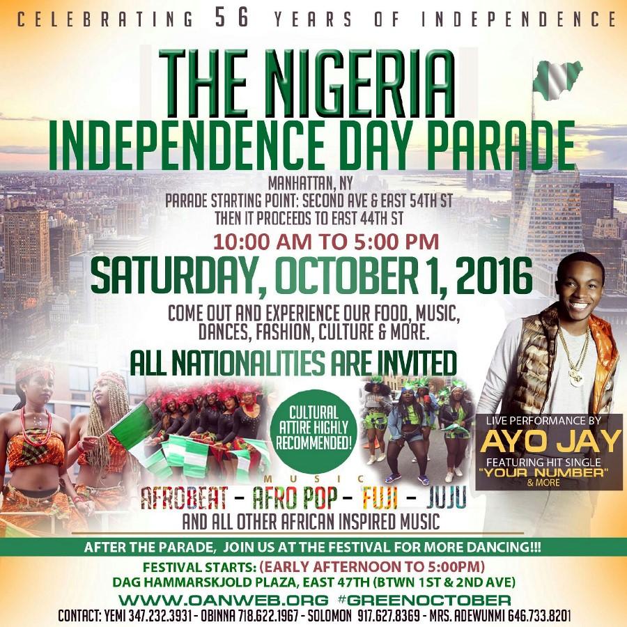 Nigeria Independence Parade
