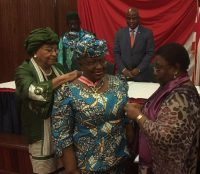 Ngozi Okonjo Iweala receives award