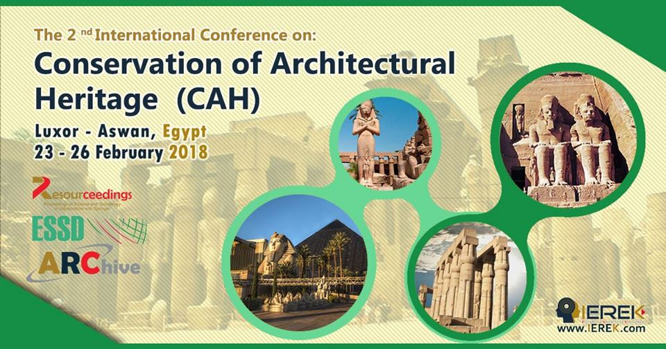 Conservation of Architectural Heritage (CAH) – 2nd Edition