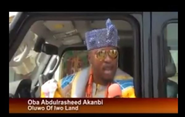 Oba Abdulrasheed Akanbi, Oluwo Of Iwo Land Patronizes Innoson Made In Nigeria Motor – IVM G80