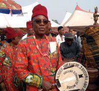 Chief Ibeawuchi J. Iheoma Agubinisinda of Oboama Ezinihitte.